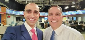 Leon Brie with Tim Miller Anchor Your Morning WTOL 11 CBS TV
